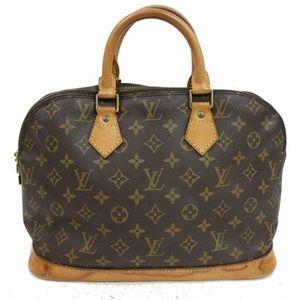 Auth Louis Vuitton Alma Bag #650L17